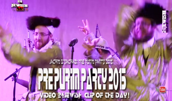 clip-Pre Purim Party
