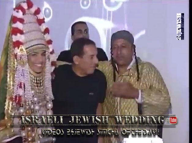 clip-Israeli Jewish wedding